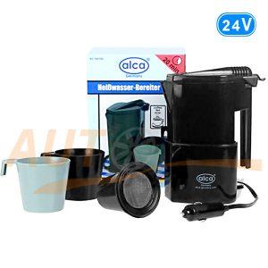 Кофеварка-чайник ALCA, водонагреватель в грузовик, DC 24V, 400 мл, Германия