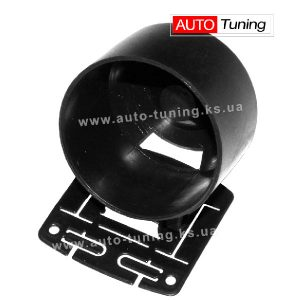Sport Car - Подиум для одного прибора с регулировкой угла обзора, BLACK, Ø 60 мм, MGВ/U