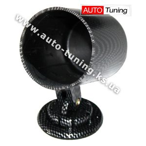 Sport Car – Подиум для одного прибора с регулировкой угла обзора, CARBON, Ø 56 мм, MGВ1/CB