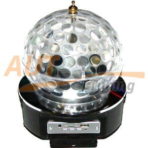LED Magic Ball Light - Светодиодный вращающийся ДИСКОШАР, CD, USB, AB-0055