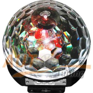 LED Magic Ball Light - Светодиодный вращающийся ДИСКОШАР, USB, AB-0008