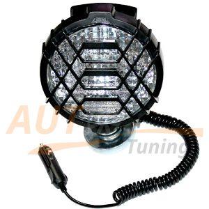 LAVITA - Прожектор, фара-искатель на магните, H3, 12V, 55W, LA HY-023D-6