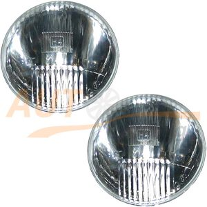 Комплект оптики WESEM на ВАЗ 2103-2106 (FIAT 125 P), дальний свет, H4, 2шт