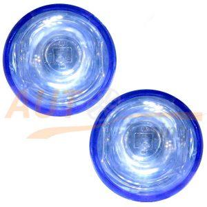 Универсал. противотуманные фары VITOL, 2 шт, Blue, LA-168
