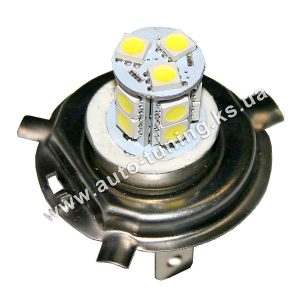 Светодиодная лампа белого света, 13 LED, DC 12V, H4, ULM-17