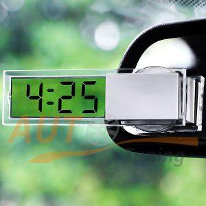 Тюнингованные часы на присоске с прозрачным дисплеем, N-001