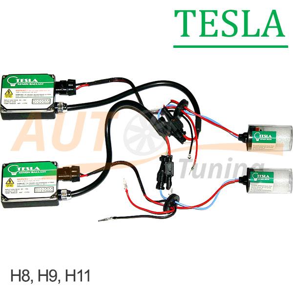 TESLA - Комплект ксенонового света, DC 9-16V, 2×40W, H8, H9, H11, TS-3510B
