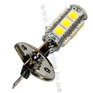 Светодиодная лампа белого света, 13 LED, DC 12V, H1, ULM-21