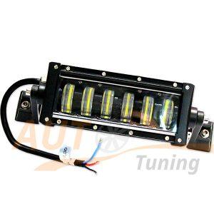 Светодиодная балка 6 LED, 205×80 (мм), DC 10-60V, 36W, ближний / дальний свет, RM-F650