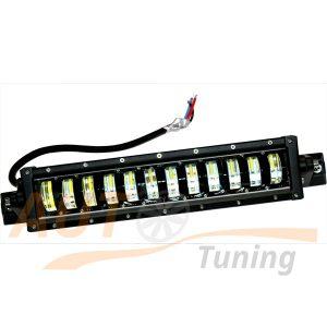 Светодиодная балка 12 LED, 334×80 (мм), 70W, ближний / дальний свет, FF-M700