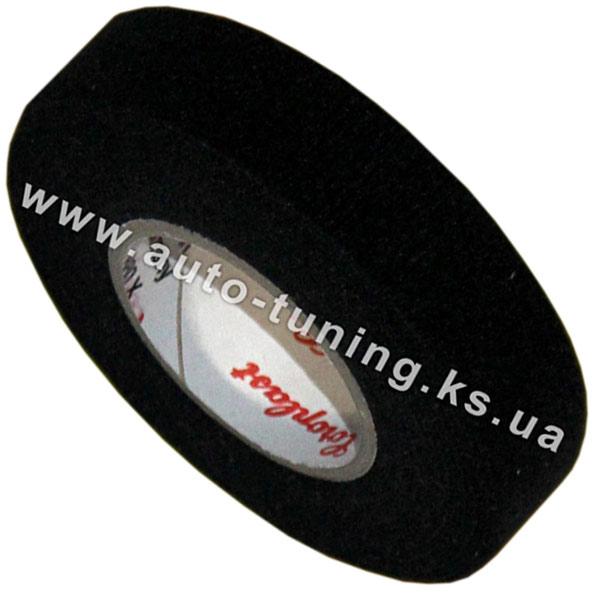 Изолента войлочная автомобильная, ширина - 19 мм, Black