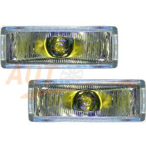 Универсал. противотуманные фары VITOL, 2 шт, Yellow, LA-996