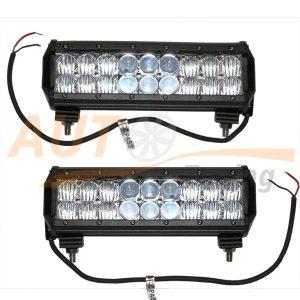 Светодиодная балка 18 LED, 230×80×65 (мм), смешанный свет, 2 шт, К6024