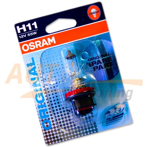 Галогенная лампа OSRAM Original SPARE PART H11, DC 12V, 55W, 1 шт