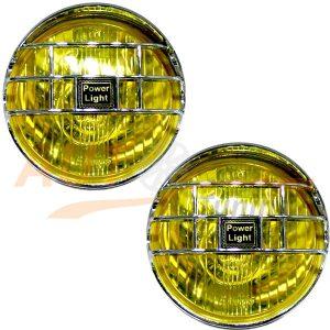 Универсал. противотуманные фары VITOL, 2 шт, Yellow, LA-1090-Y