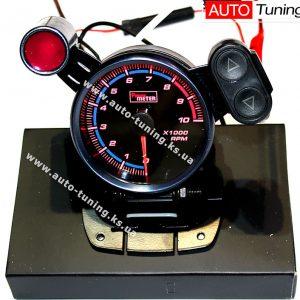 Smoke Gauge - Тахометр спортивный, с выносной Shift лампой, Red, LED 7515