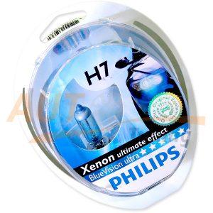 Галогенные лампы PHILIPS Vision Ultra Н7, DC 12V, 55W, 2 шт