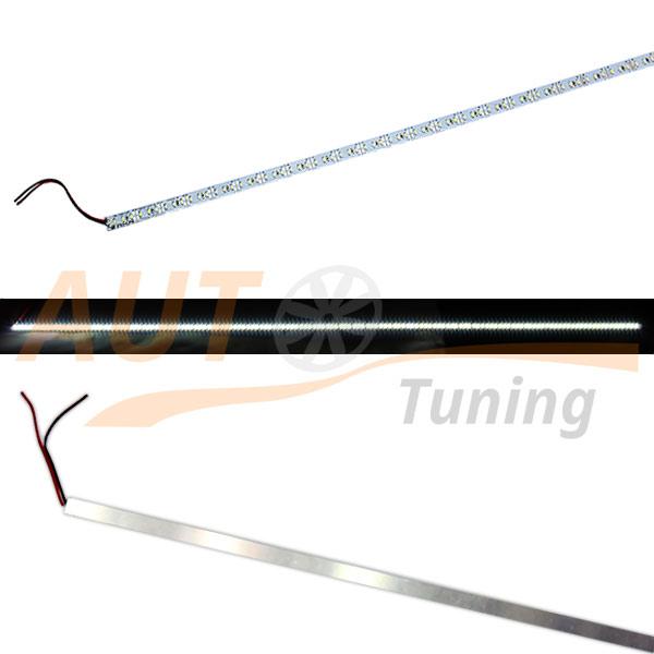 Полоса, сверхъяркая LED-лента на 144 LED, 48×3 LED, L-120 см, 12V, WH-120.3.144