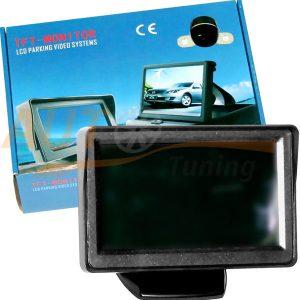 """Цветной TFT монитор 4.3"""" для подключения видеокамеры заднего вида, С-55"""