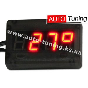 AURO - Тахометр, вольтметр, автомобильный термометр 3в1, ШТУРМАН 6