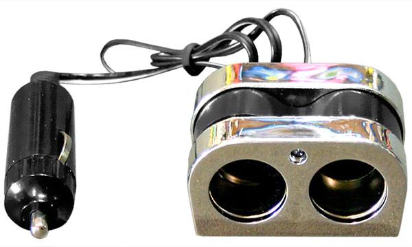 Двухканальный разветвитель питания розетки прикуривателя, CMI-8