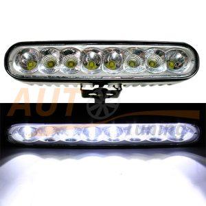 Светодиодные фары 8 LED, 165×35×70 (мм), комбинированный свет, 2 шт, KDR205M