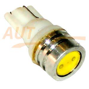 Светодиодная безцокольная лампа белого света с радиатором, DC 12V, LW-0003W