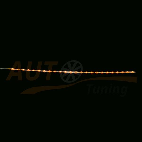 Светодиодная лента оранжевого цвета для автомобиля, DC 12-24V, Orange, OL-563.1