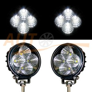 Светодиодные балки 4 LED, 83×109×76 (мм), ближний свет, 2 шт, BOL 0403F