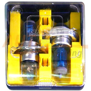 Галогенные лампы NARVA Blue, Н4, DC 12V, 55W, 2 шт
