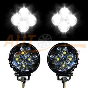 Светодиодная балка 4 LED, 83×109×76 (мм), дальний свет, 2 шт, BOL 0403S