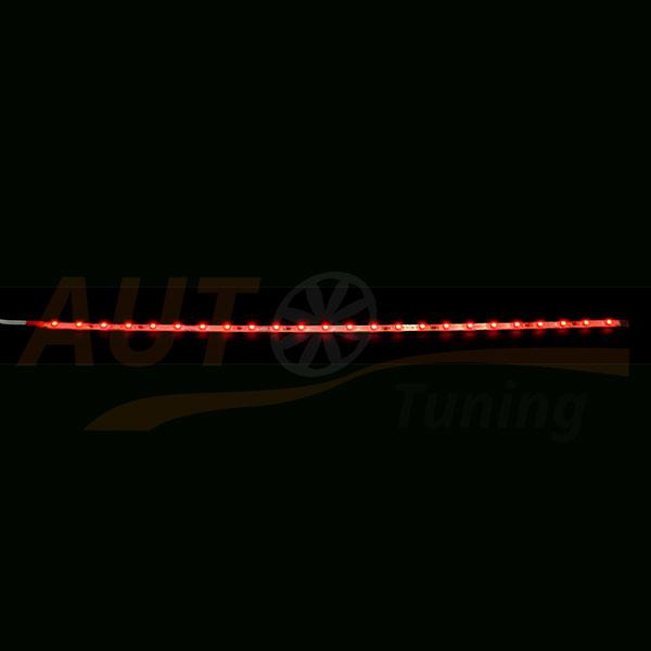 LED лента красного цвета для автомобиля, DC 12-24V, Red, RL-566.4