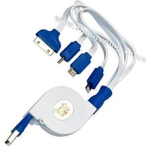 Универсальный автомобильный соединительный кабель USB, 14/15/Mini/Micro...