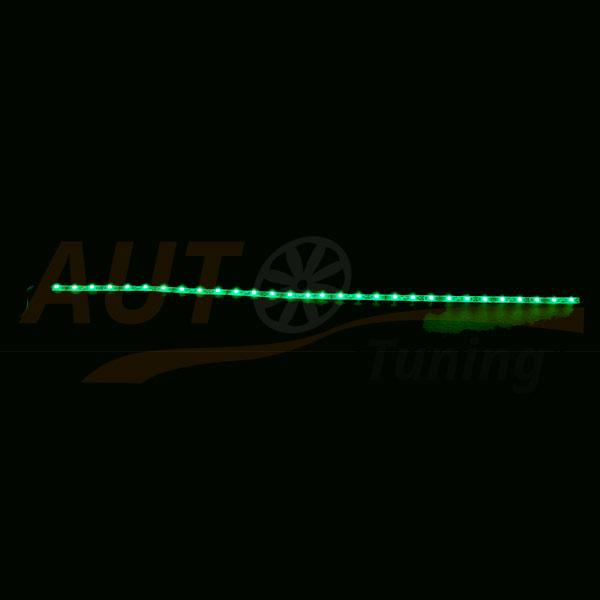 LED лента зеленого цвета для автомобиля, DC 12-24V, Green, GL-567.5