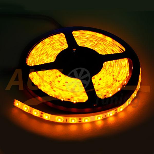 LED лента оранжевого цвета на метраж, DC 12-24V, Orange, OL-563.0.1