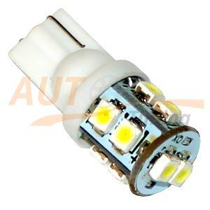 Безцокольная светодиодная лампа белого света, 10 LED, LW-00017W