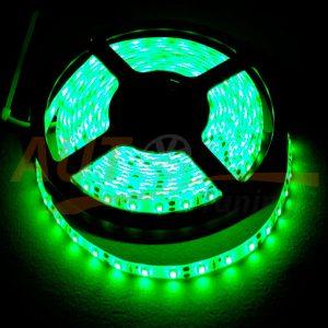 Светодиодная лента зеленого цвета на метраж, DC 12-24V, Green, GL-567.0.1