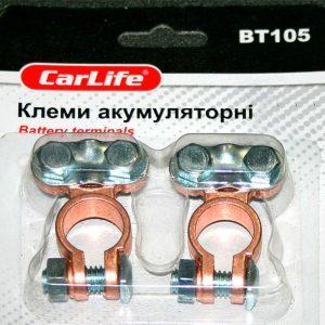 Комплект универсальных аккумуляторных клемм, CarLIFE BT-105