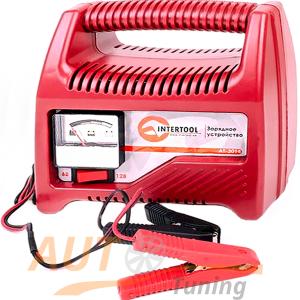 INTERTOOL – Автомобильное зарядное устройство для АКБ, AT-3014
