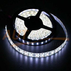 LED лента белого цвета на метраж, DC 12-24V, White, FW-5050W-60RW