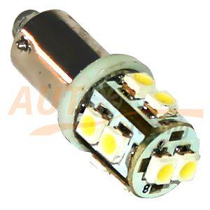 Светодиодная лампа белого света, 10 LED, BA9S, DC 12V, LW-00031W
