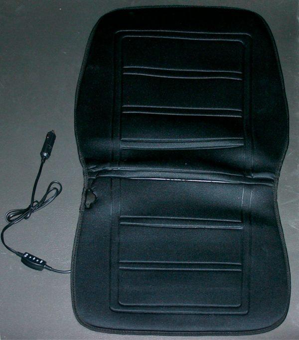 Elegant - Универсальные накидки на сидения с электроподогревом, Black, 100575