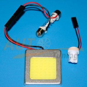 Светодиодная матрица для освещения салона, DC 12V , 37×42 (mm)