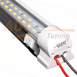 KASIZHE – Светодиодная LED лампа для освещения салона грузовика, T8, LED TUBE, 24V, L335