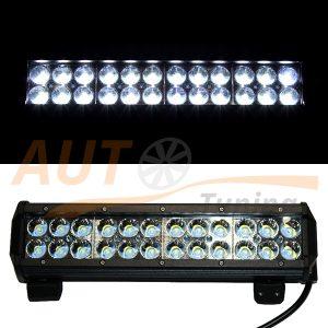 Светодиодная балка 24 LED, 300×75 (мм), дальний свет, Cree™, 72W, 1 шт, GPR-350V