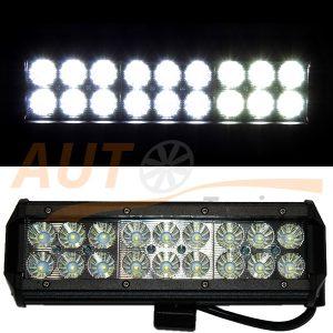 Светодиодная балка 18 LED, 240×80 (мм), дальний свет, Cree™, 54W, 1 шт, PT-220M