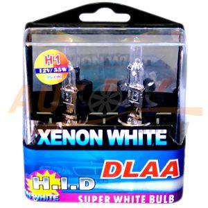 Галогенные лампы DLAA H.I.D, Н1, DC 12V, 55W, 2 шт