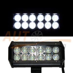 Светодиодная балка 12 LED, 165×75 (мм), дальний свет, 36W, Cree™, 1 шт, TP-110U