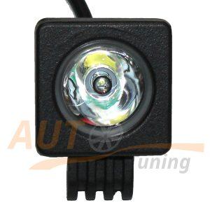 Светодиодная балка 1 LED, 50×50 (мм), дальний свет, 10W, Cree™, 1 шт, R-501M