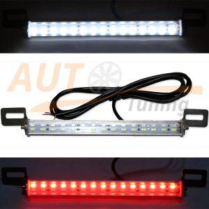 Подсветка номера с дублером СТОП сигнала, светодиодная, 30 Led, 12V, LCD-30RW